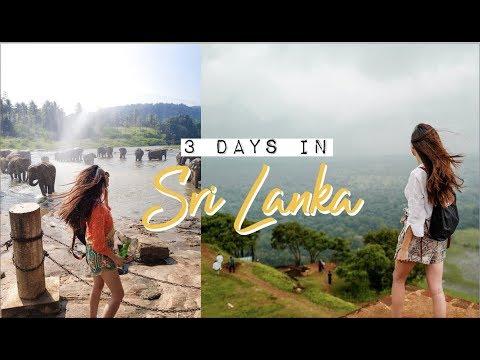 3 Days in Sri Lanka | Colombo & Kandy Travel VLOG | Jenny Zhou 周杰妮