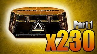 230 ADVANCED SUPPLY DROPS OPENING MONTAGE! (Part 1 - 100 Packages Unboxing)