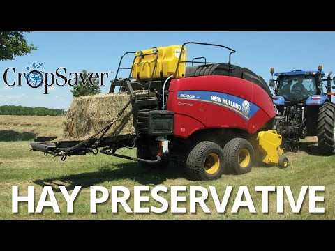 Video] New Holland – CropSaver Hay Preservative | Canadian