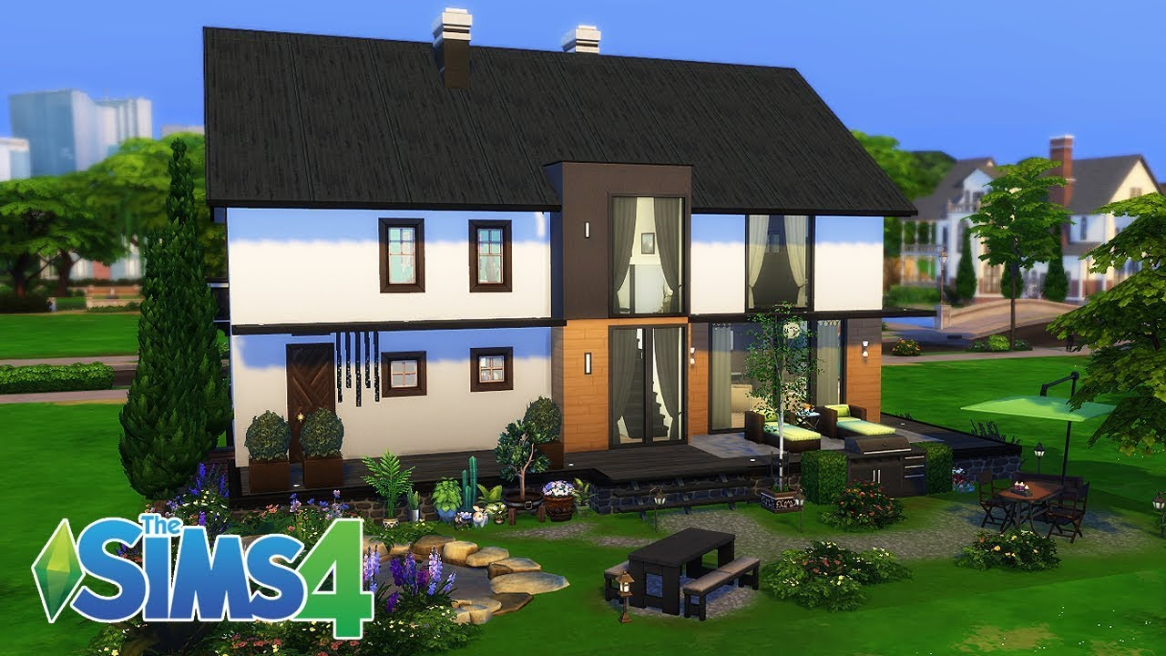 4    Newlyweds house The Sims 4 speed