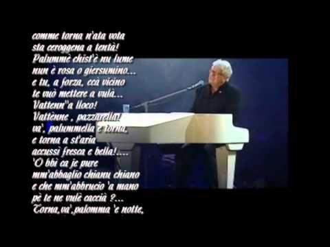055 UN CAPOLAVORO Palomme e notte Peppino di Capri con testo