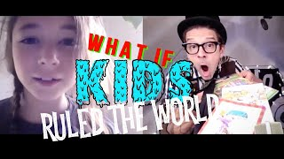 What If Kids Ruled The World: Harper, Izah, Tiago, and Vitor