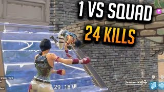 🥇TOP 1 / 1 VS SQUAD 24 KILLS (Epreuve de tir)