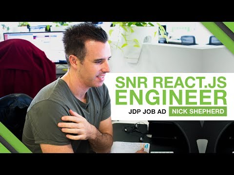 THIS IS A JOB AD - SENIOR REACT.JS ENGINEER (Sydney)