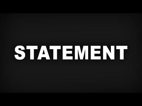 Ein Statement von 90+ Youtubern