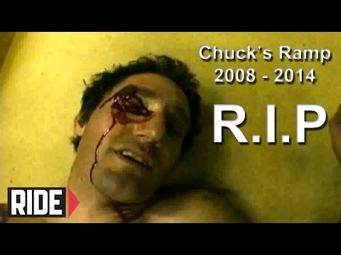 BIG Slam - Mini Ramp: Chuck's Ramp R.I.P Vid from 808 Skate