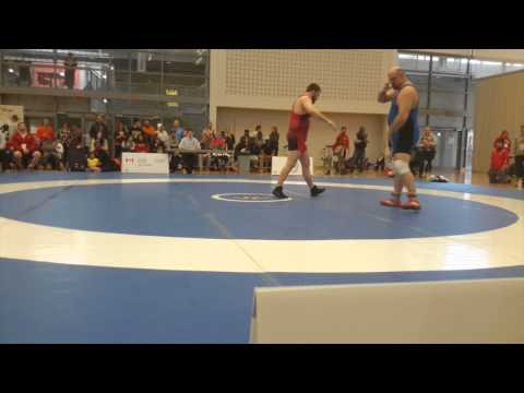 2015 Senior Greco-Roman National Championships: 130 kg Korey Jarvis vs. Peter Brown