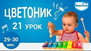 """Знакомимся с городом. Развитие ребенка 2,5 лет по методике """"Цветоник"""". Урок 21"""