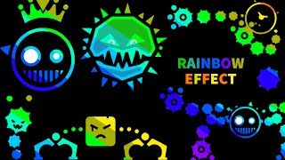 RAINBOW EFFECT IN ALL BOSSES / Just Shapes And Beats (Read Desc)