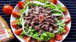 Cách Làm Bò Trộn Salad Chua Ngọt Thanh Mát Cho Ngày Hè| Góc Bếp Nhỏ