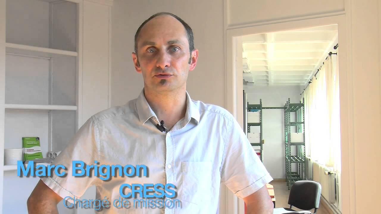 Marc brignon charg de mission la cress chambre - Chambre regionale de l economie sociale et solidaire ...