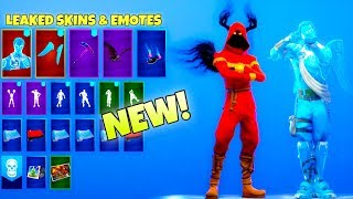 *NEW* Leaked Fortnite Emotes & Skins! (FROZEN Skins, Crackshot EMOTE)