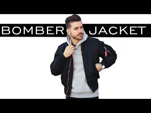 HOW TO STYLE A BOMBER JACKET | MEN'S FASHION | ALEX COSTA