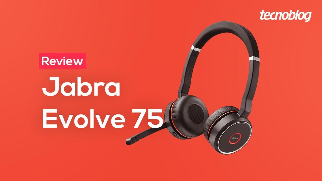 Fone Jabra Evolve 75 Review Tecnoblog Youtube
