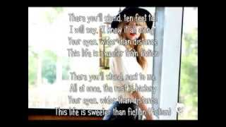 Sweeter Than Fiction - Taylor Swift (With Lyrics)