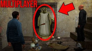 We FOUND GOLDEN GRANNY in Granny Horror MULTIPLAYER..