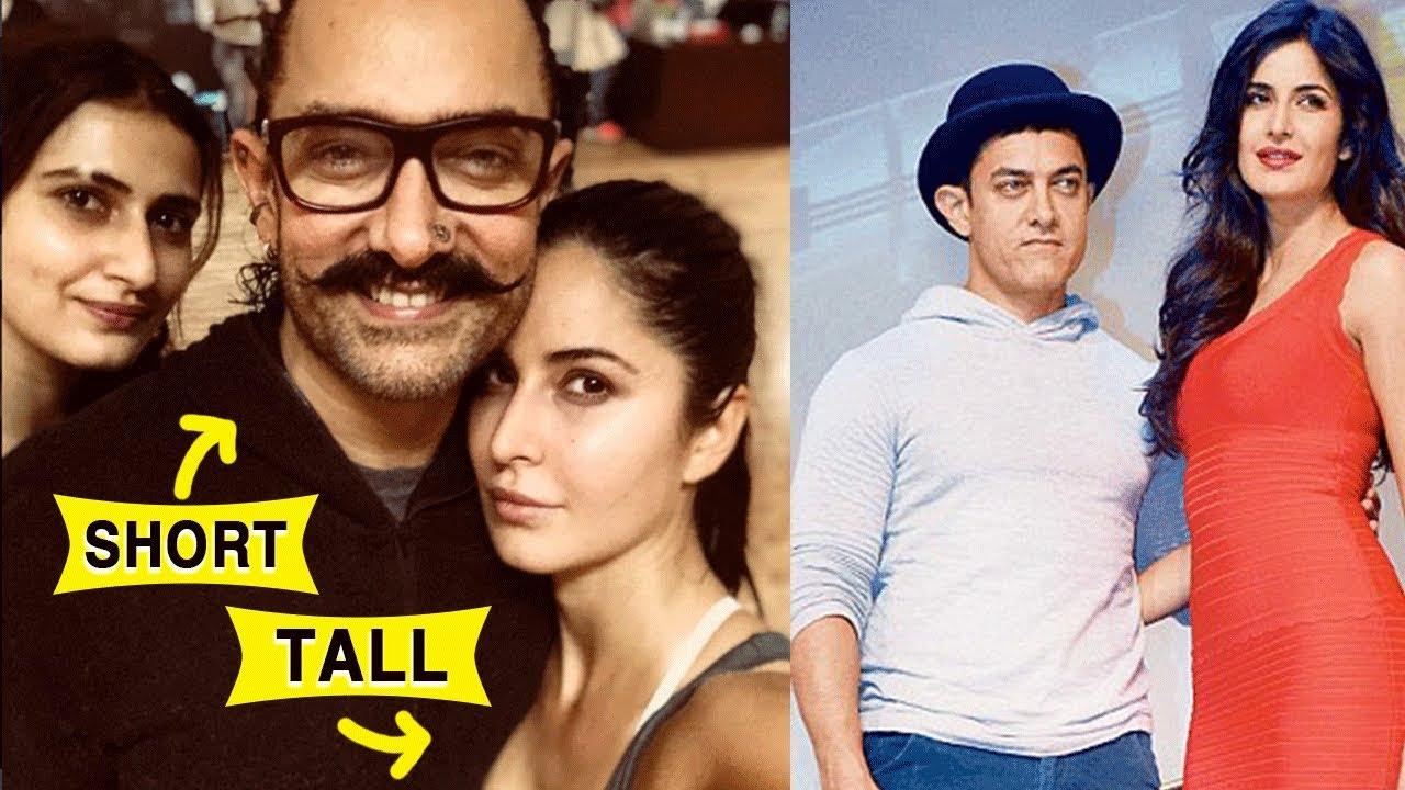Aamir Khan's Height Is Stresses Katrina Kaif And Thugs Of ...