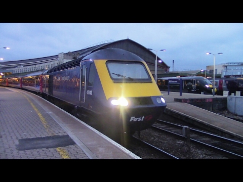 Trains at Bristol Temple Meads, GWML + WML - 13/5/17