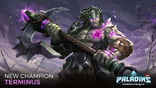 TERMINUS GAMEPLAY ft. Droust, Pedra e Zemo - PALADINS CASUAL