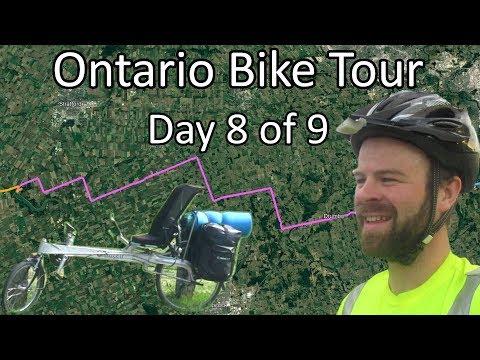 St Marys To Pinehurst Lake - Rural Ontario Bike Tour - Day 8 Of 9