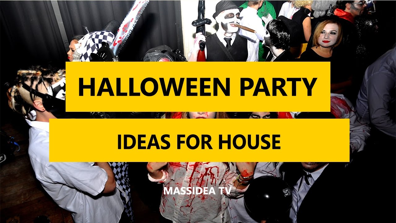 40 best halloween party ideas for your house 2017
