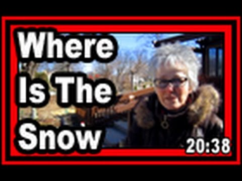 Where Is The Snow - Wisconsin Garden Video Blog 754