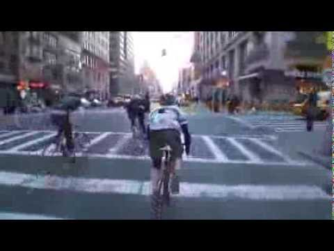 Line Of Sight by Lucas Brunelle  NYC Alleycat