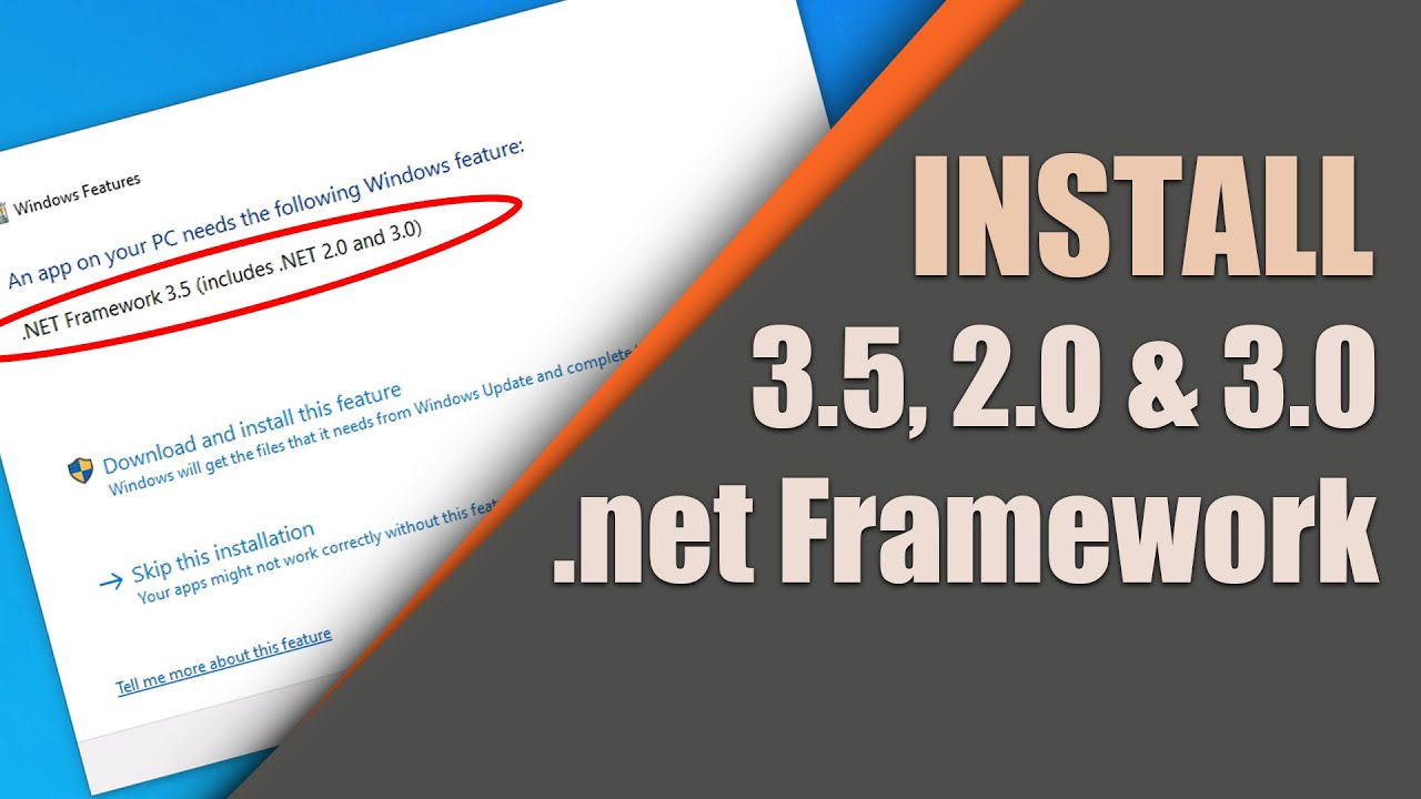 How to Install .net Framework 2220220.2220220 Includes .net 2220.220 and 2220220.220   YouTube