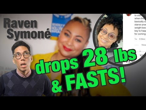 Why is RAVEN getting blowback from her recent WEIGHT LOSS? What is DIET CULTURE?