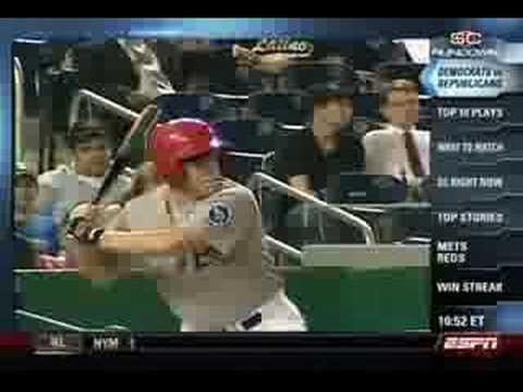 Congressional Baseball 2008 highlight