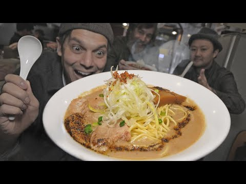 Kyoto Ramen Town Eating Adventure | Ichijoji ★ ONLY in JAPAN