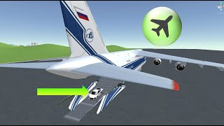Open door with airplane button and challenge to climb roof