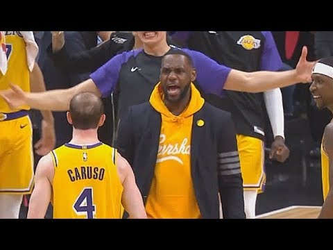 LeBron James Gets Shocked & Impressed By Alex Caruso Who Activates LeCaruso Mode vs Clippers!