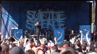 Suicide Silence - Fuck Everything (Live at Mayhem Fest, Dallas, TX,   08/09/2014)