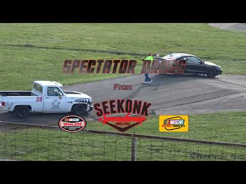 Spectator Drags @ The Nutcracker from Seekonk Speedway on 11-25-17