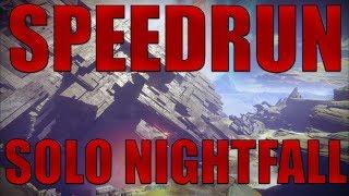 DESTINY 2 | Speedrun Solo Nightfall | The Pyramidion