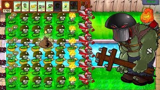 GATLING PEA ZOMPLANT vs GARGANTUAR FIGHT! in Plants vs Zombies Mod ZomPlant vs Mod ZomBotany