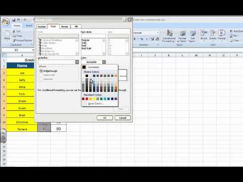 Battleship Activity Conditional Formatting In Excel Youtube