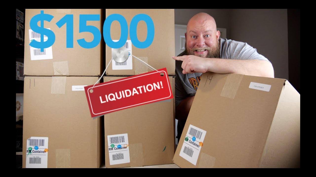 Purchased a $1,511 Amazon Customer Return Liquidation Pallet That Contains  5 HUGE Mystery Boxes
