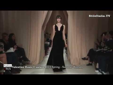 """Italian Fashion"" -    ""Valentino Haute Couture"" - ""2015 Spring Summer""  Women - ""Italian Woman"""