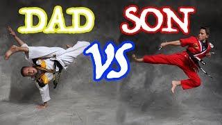 Bryton vs Dad 60 Second Photo challenge!