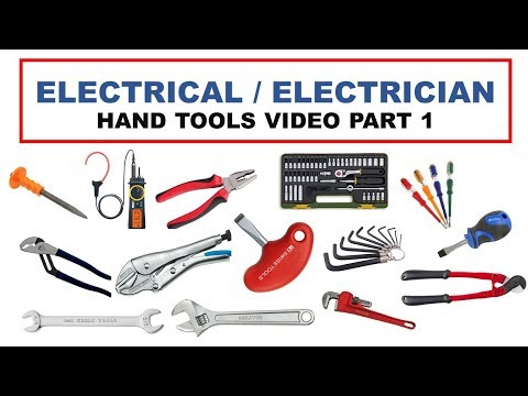 Electrician Hand Tools Part 1