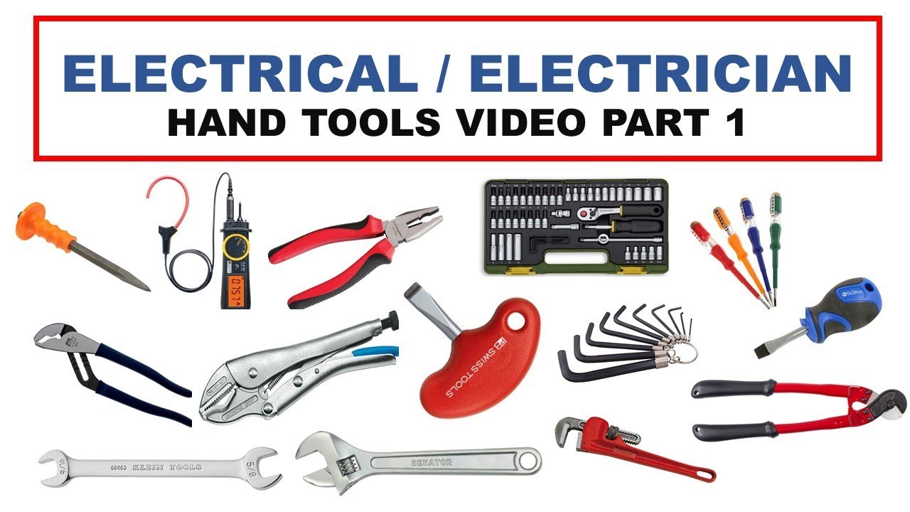 Electrician Hand tools part 1 - YouTube