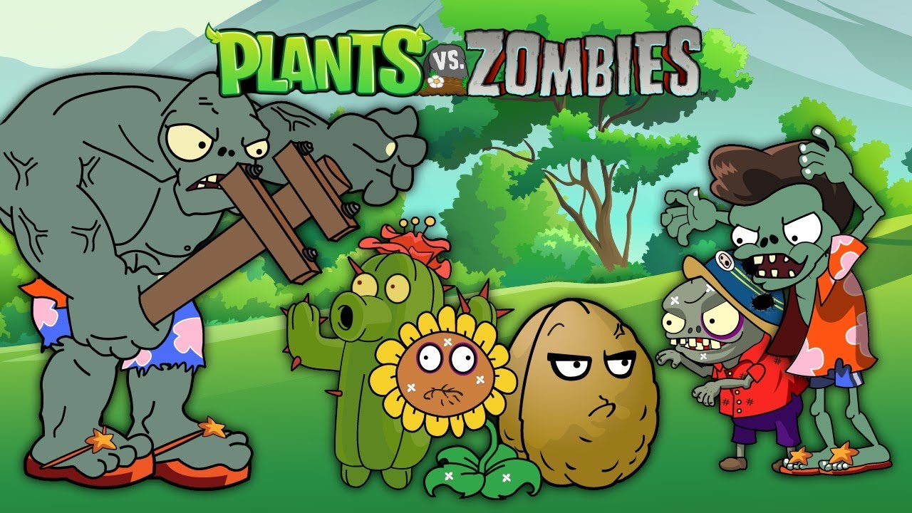 PvZ Creative funny animation #3 (Series 2021)