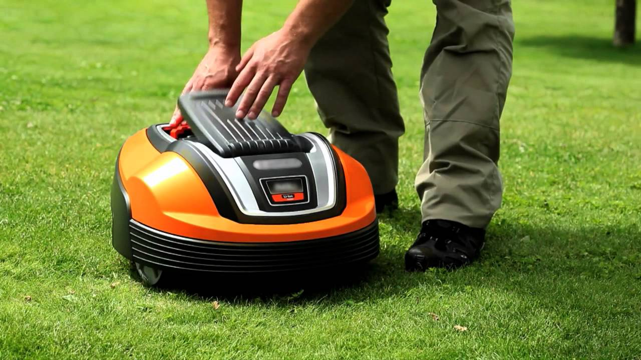 Flymo Robotic Lawnmower 1200r Antitheft And Security