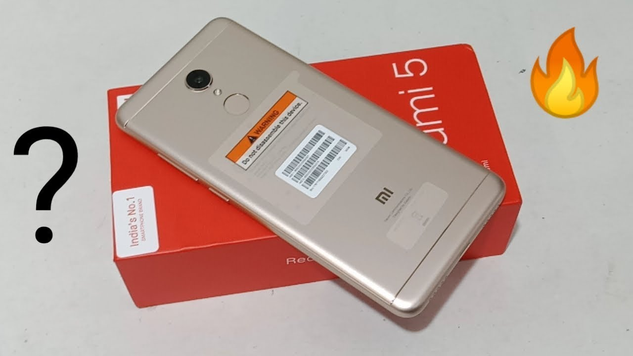 Redmi 5 (3GB/32GB)  Unboxing & Overview  In Hindi