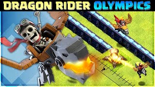 DRAGON RIDER OLYMPICS🔥 SPEED, RANGE & MORE!   CLASH OF CLANS