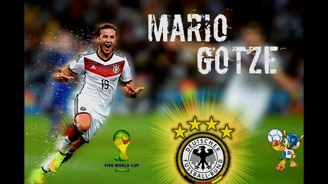 Mario-Gotze-Germany-Player-World-Cup-2014-Wallpaper ... |Mario Gotze 2013 2014