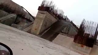 Polavaram Dam Spillway Works at Ground Level on 04 04 2018 West Godavari District AP India