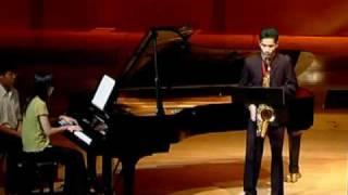 Concerto for Tenor Saxohone by Robert Ward / Wisuwat Pruksavanich  (Part2)